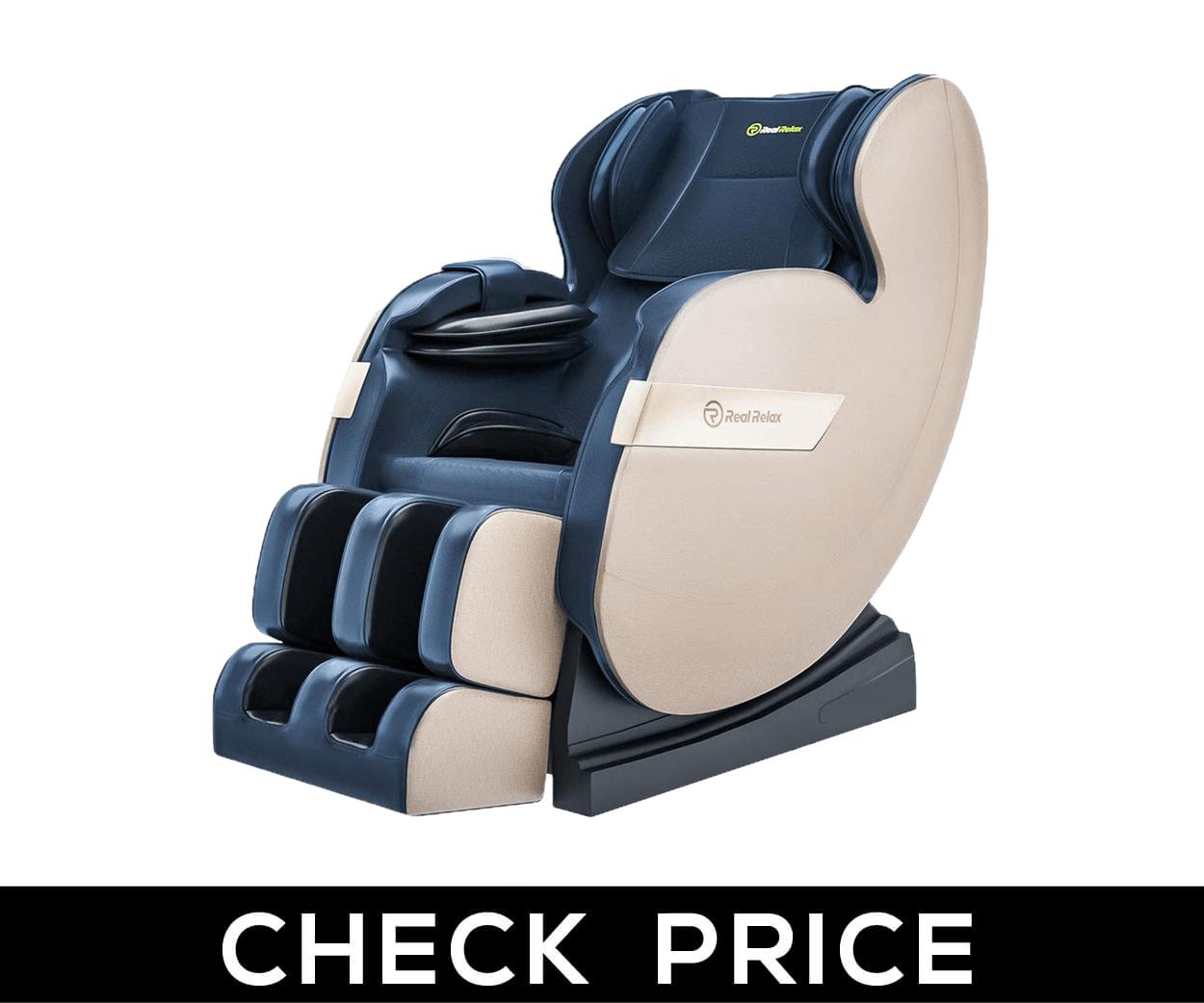 Real Relax – Best for Full Body Zero Gravity Shiatsu Massage